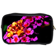 Lantanas Toiletries Bags 2 Side by timelessartoncanvas