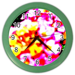 Dsc 01036 Color Wall Clocks by timelessartoncanvas