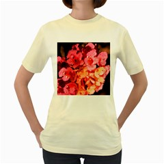 Dsc 0117666565 Women s Yellow T Shirt by timelessartoncanvas