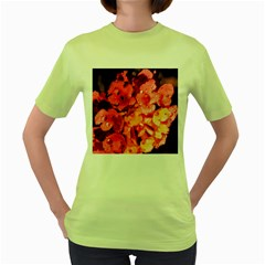 Dsc 0117666565 Women s Green T-shirt by timelessartoncanvas