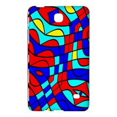 Colorful Bent Shapes			samsung Galaxy Tab 4 (8 ) Hardshell Case by LalyLauraFLM