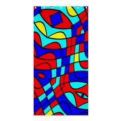 Colorful Bent Shapes	shower Curtain 36  X 72  by LalyLauraFLM