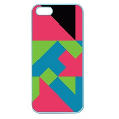 Angles			apple Seamless Iphone 5 Case (color) by LalyLauraFLM