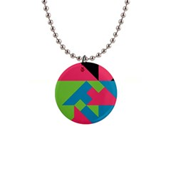 Angles 			1  Button Necklace by LalyLauraFLM