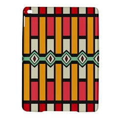 Rhombus And Stripes Pattern			apple Ipad Air 2 Hardshell Case by LalyLauraFLM