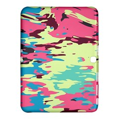 Chaos Texture			samsung Galaxy Tab 4 (10 1 ) Hardshell Case by LalyLauraFLM