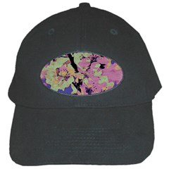 Floral Art Studio 12216 Black Cap by MoreColorsinLife