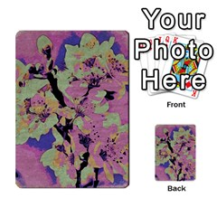 Floral Art Studio 12216 Multi Purpose Cards (rectangle)  by MoreColorsinLife