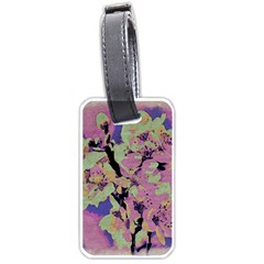 Floral Art Studio 12216 Luggage Tags (one Side)  by MoreColorsinLife