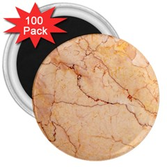 Stone Floor Marble 3  Magnets (100 Pack) by essentialimage