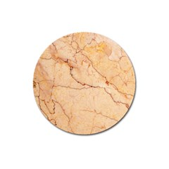 Stone Floor Marble Magnet 3  (round) by essentialimage