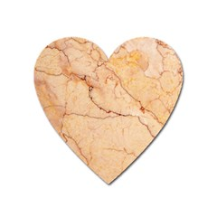 Stone Floor Marble Heart Magnet by essentialimage
