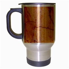 Stone Floor Marble Travel Mug (silver Gray) by essentialimage