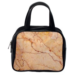 Stone Floor Marble Classic Handbags (one Side) by essentialimage