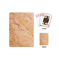 Stone Floor Marble Playing Cards (mini)  by essentialimage