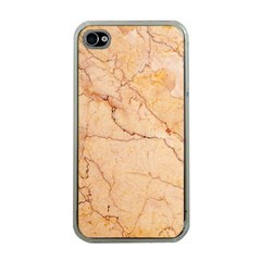 Stone Floor Marble Apple Iphone 4 Case (clear)