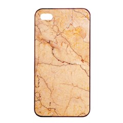 Stone Floor Marble Apple Iphone 4/4s Seamless Case (black) by essentialimage