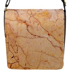 Stone Floor Marble Flap Messenger Bag (s) by essentialimage