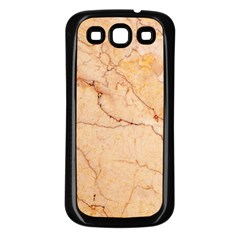 Stone Floor Marble Samsung Galaxy S3 Back Case (black) by essentialimage