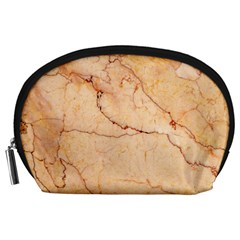 Stone Floor Marble Accessory Pouches (large)  by essentialimage