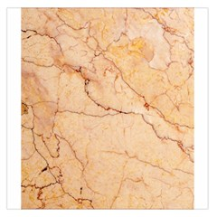 Stone Floor Marble Large Satin Scarf (square) by essentialimage