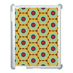 Floral Pattern			apple Ipad 3/4 Case (white) by LalyLauraFLM