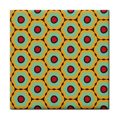 Floral Pattern 			tile Coaster by LalyLauraFLM