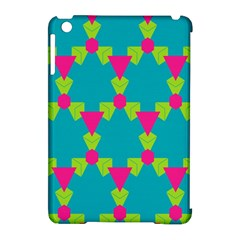 Triangles Honeycombs And Other Shapes Pattern			apple Ipad Mini Hardshell Case (compatible With Smart Cover) by LalyLauraFLM