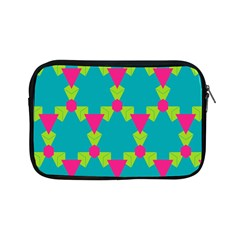 Triangles Honeycombs And Other Shapes Pattern			apple Ipad Mini Zipper Case by LalyLauraFLM