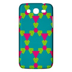 Triangles Honeycombs And Other Shapes Pattern			samsung Galaxy Mega 5 8 I9152 Hardshell Case by LalyLauraFLM