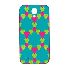 Triangles Honeycombs And Other Shapes Pattern			samsung Galaxy S4 I9500/i9505 Hardshell Back Case by LalyLauraFLM