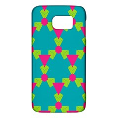 Triangles Honeycombs And Other Shapes Pattern			samsung Galaxy S6 Hardshell Case by LalyLauraFLM