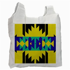 Tribal Design Recycle Bag by LalyLauraFLM