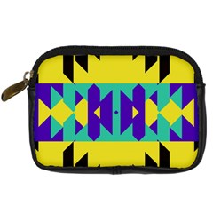 Tribal Design 	digital Camera Leather Case by LalyLauraFLM