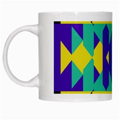 Tribal Design White Mug