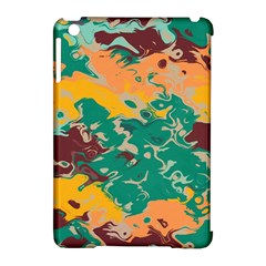 Texture In Retro Colors			apple Ipad Mini Hardshell Case (compatible With Smart Cover) by LalyLauraFLM