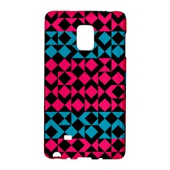 Rhombus And Triangles			samsung Galaxy Note Edge Hardshell Case by LalyLauraFLM