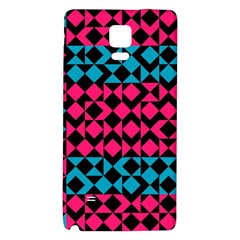 Rhombus And Triangles			samsung Note 4 Hardshell Back Case by LalyLauraFLM