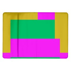 Rectangles And Other Shapes			samsung Galaxy Tab 10 1  P7500 Flip Case by LalyLauraFLM