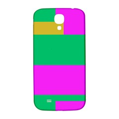 Rectangles And Other Shapes			samsung Galaxy S4 I9500/i9505 Hardshell Back Case by LalyLauraFLM