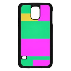 Rectangles And Other Shapes			samsung Galaxy S5 Case (black) by LalyLauraFLM