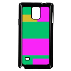 Rectangles And Other Shapes			samsung Galaxy Note 4 Case (black) by LalyLauraFLM