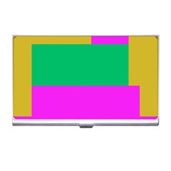 Rectangles And Other Shapes 			business Card Holder by LalyLauraFLM