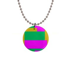 Rectangles And Other Shapes 			1  Button Necklace by LalyLauraFLM