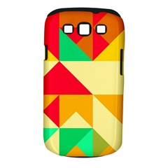 Retro Colors Shapes			samsung Galaxy S Iii Classic Hardshell Case (pc+silicone) by LalyLauraFLM