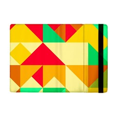 Retro Colors Shapes			apple Ipad Mini 2 Flip Case by LalyLauraFLM