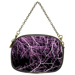 Purple Twigs Chain Purses (two Sides)  by timelessartoncanvas