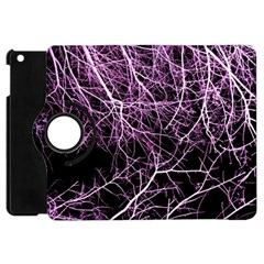 Purple Twigs Apple Ipad Mini Flip 360 Case by timelessartoncanvas