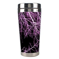 Purple Twigs Stainless Steel Travel Tumblers by timelessartoncanvas