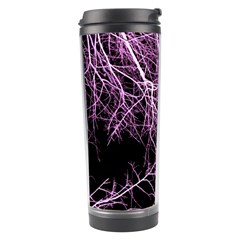 Purple Twigs Travel Tumblers by timelessartoncanvas